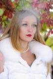 όμορφο κορίτσι cigaret Στοκ Εικόνες