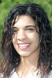 Όμορφο κορίτσι Headshot υπαίθρια Στοκ φωτογραφία με δικαίωμα ελεύθερης χρήσης