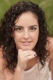όμορφο κορίτσι headshot Στοκ φωτογραφία με δικαίωμα ελεύθερης χρήσης