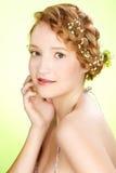 όμορφο κορίτσι redhead στοκ εικόνα με δικαίωμα ελεύθερης χρήσης