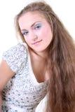 όμορφο κορίτσι sundress Στοκ εικόνα με δικαίωμα ελεύθερης χρήσης