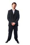 όμορφο κοστούμι ατόμων πο&upsi στοκ φωτογραφία