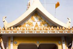 Όμορφο κτήριο αρχιτεκτονικής της Ταϊλάνδης Στοκ Εικόνες