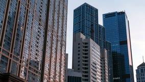 όμορφο κτήριο σύγχρονο κινεζική πόλη Στοκ Φωτογραφία