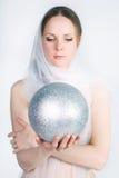 όμορφο λευκό μαντίλι κορ&iot Στοκ εικόνες με δικαίωμα ελεύθερης χρήσης