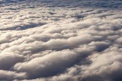 όμορφο λευκό σύννεφων Στοκ Φωτογραφίες