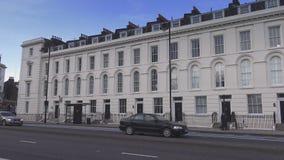 Όμορφο Λονδίνο Millbank απόθεμα βίντεο