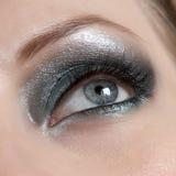Όμορφο μάτι γυναικών Στοκ Εικόνες