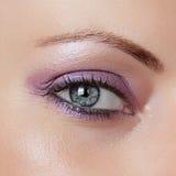 Όμορφο μάτι γυναικών Στοκ φωτογραφία με δικαίωμα ελεύθερης χρήσης
