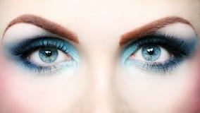Όμορφο μάτι makeup Στοκ Εικόνα