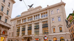 Όμορφο μέγαρο στη Ρώμη - Unione Militare Στοκ Εικόνα