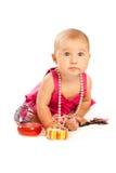 όμορφο μέρος μωρών εξαρτημάτων Στοκ εικόνα με δικαίωμα ελεύθερης χρήσης