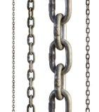 όμορφο μέταλλο τρία απεικόνισης αριθμού αλυσίδων διαστατικό πολύ Στοκ Εικόνες
