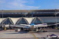 Όμορφο μεγάλο αεροπλάνο στοκ εικόνες