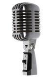 όμορφο μικρόφωνο παλαιό στοκ φωτογραφία με δικαίωμα ελεύθερης χρήσης
