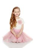 Όμορφο μικρό κορίτσι 5-6 έτη Στοκ Φωτογραφίες