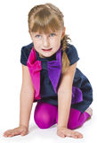 Όμορφο μικρό κορίτσι   Στοκ Φωτογραφία