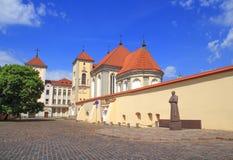 Όμορφο μοναστήρι Pazhayslissky σε Kaunas στο καλοκαίρι στοκ φωτογραφία με δικαίωμα ελεύθερης χρήσης