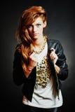 Όμορφο μοντέλο μόδας hairstyle Στοκ εικόνες με δικαίωμα ελεύθερης χρήσης