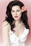 όμορφο μοντέλο brunette Στοκ φωτογραφίες με δικαίωμα ελεύθερης χρήσης