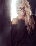 όμορφο μοντέλο Στοκ εικόνες με δικαίωμα ελεύθερης χρήσης