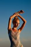 όμορφο μοντέλο Στοκ εικόνα με δικαίωμα ελεύθερης χρήσης