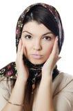 όμορφο μουσουλμανικό μαντίλι κοριτσιών Στοκ φωτογραφία με δικαίωμα ελεύθερης χρήσης