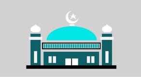 όμορφο μουσουλμανικό τέμ& Στοκ Φωτογραφίες