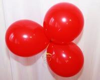 Όμορφο μπαλόνι, σύμβολο διακοπών Στοκ Εικόνες