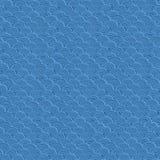 Όμορφο μπλε διανυσματικό σχέδιο κυμάτων θάλασσας Στοκ Φωτογραφία