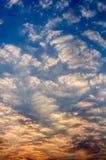 Όμορφο μπλε πρωί Στοκ φωτογραφία με δικαίωμα ελεύθερης χρήσης