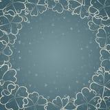 Όμορφο μπλε floral υπόβαθρο Στοκ εικόνες με δικαίωμα ελεύθερης χρήσης