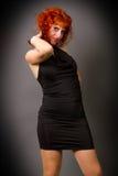 Όμορφο νέο κοκκινομάλλες κορίτσι Στοκ Φωτογραφία
