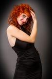 Όμορφο νέο κοκκινομάλλες κορίτσι Στοκ εικόνες με δικαίωμα ελεύθερης χρήσης