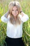 Όμορφο νέο κορίτσι Στοκ Εικόνες