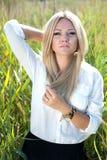 Όμορφο νέο κορίτσι Στοκ Φωτογραφία