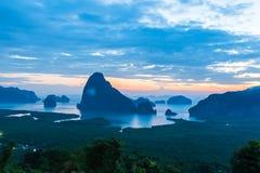 Όμορφο νέο ορόσημο της Ταϊλάνδης στοκ εικόνες