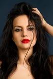 Νέο πορτρέτο brunette Στοκ Φωτογραφία