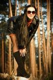 Όμορφο νέο brunette Στοκ εικόνα με δικαίωμα ελεύθερης χρήσης