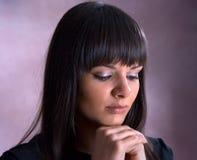 Όμορφο νέο brunette Στοκ Φωτογραφίες
