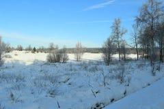 όμορφο να κάνει σκι τοπίων προορισμού χιόνι Στοκ Εικόνα