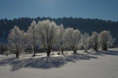 όμορφο να κάνει σκι τοπίων προορισμού χιόνι Στοκ φωτογραφίες με δικαίωμα ελεύθερης χρήσης