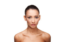 όμορφο να φανεί γυμνές νεολαίες γυναικών στοκ εικόνες με δικαίωμα ελεύθερης χρήσης