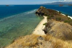 Όμορφο νησί με τις λιμνοθάλασσες και τις παραλίες σε Flores, Ινδονησία Στοκ Εικόνες