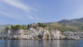 Όμορφο νησί του ST Stephen, Μαυροβούνιο Στοκ Φωτογραφίες