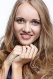 όμορφο ξανθό ευρωπαϊκό κορ Στοκ Φωτογραφίες