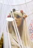 όμορφο ξανθό θηλυκό στοκ φωτογραφία με δικαίωμα ελεύθερης χρήσης
