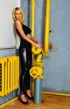 όμορφο ξανθό κορίτσι στοκ φωτογραφία με δικαίωμα ελεύθερης χρήσης