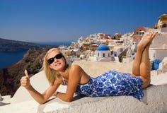 όμορφο ξανθό κορίτσι Στοκ εικόνα με δικαίωμα ελεύθερης χρήσης