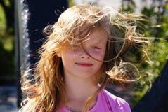 Όμορφο, ξανθό κορίτσι Στοκ Εικόνα